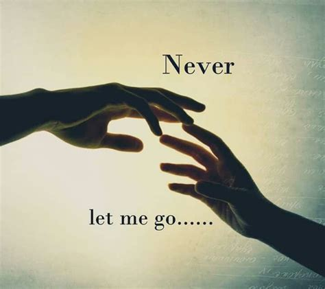 theme quotes never let me go never let me go words pinterest let me go