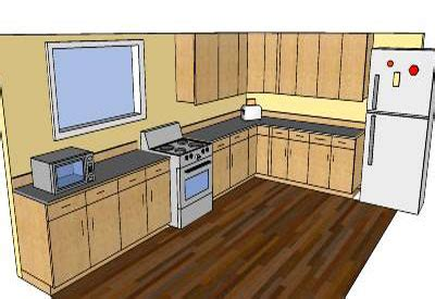 design kitchen google sketchup sketchup components 3d warehouse kitchen some kitchen plan