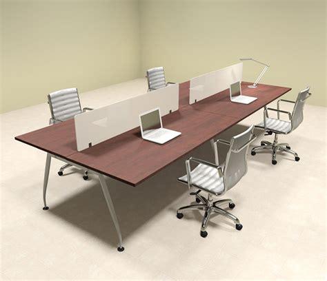 four person office desk four person modern divider office workstation desk set
