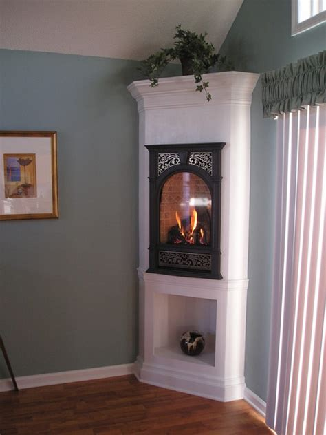 gas fireplaces for small rooms a tight fit for a fireplace eclectic dining room