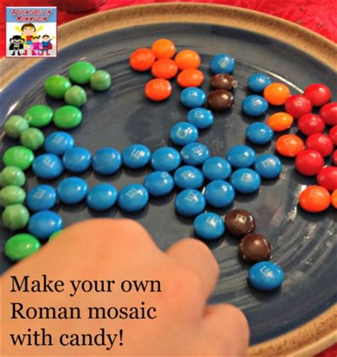 roman things to make 1409538974 how to make a roman mosaic out of candy