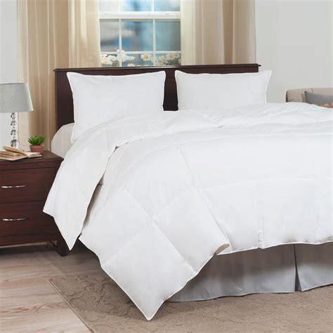 white down alternative comforter lavish home ultra soft white down alternative full queen