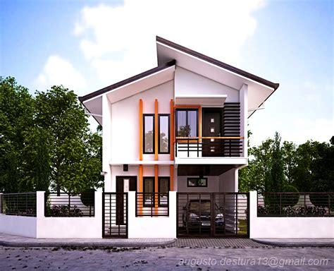 small house zen design home deco plans