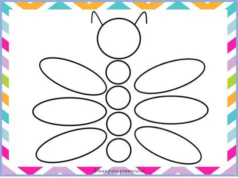 dibujos para colorear con figuras geométricas ideas para preescolar