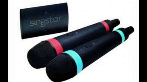 sony singstar wireless microphone full specs youtube