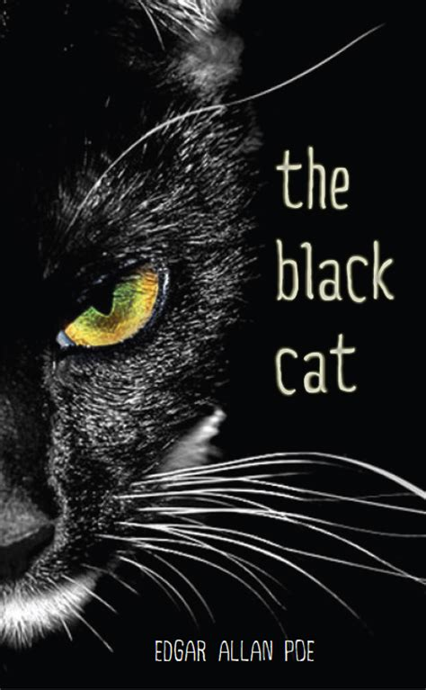 edgar allan poe biography the black cat the black cat book cover updated design on behance