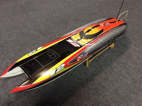 ultra fast boats ultra fast brushless genesis cat boat r c tech forums