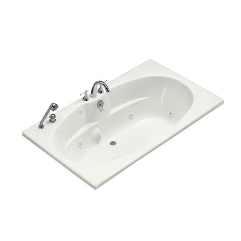 acrylic drop in bathtub kohler underscore 6 ft acrylic rectangular drop in non