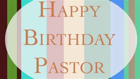 Happy Birthday Wishes For My Pastor Pastor Giardino 50th Birthday On Vimeo