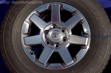 2014 Toyota 4runner Wheels 2014 Toyota 4runner Oem Factory 17 Quot Trd Trail Ed Wheels