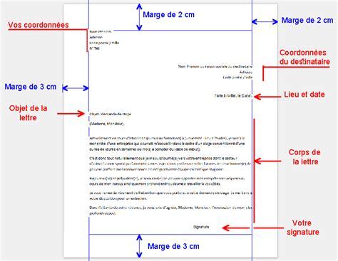 Lettre Présentation Anglais Correspondant 2 La Lettre De Demande De Stage Technologie M Greliche