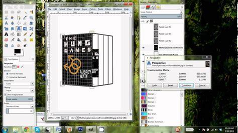 Gimp 3d Book Boxed Set Template Tutorial Youtube Gimp Templates Free