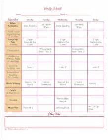 homeschool planner template free organization printables weekly planner planners