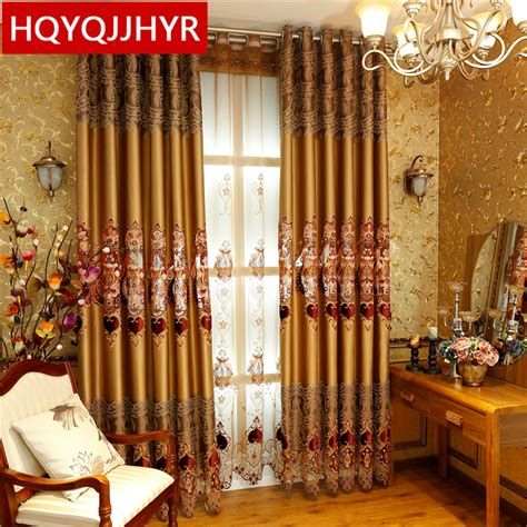 2016 weekend european luxury blackout curtains for living 2016 hot european royal luxury blackout curtains for
