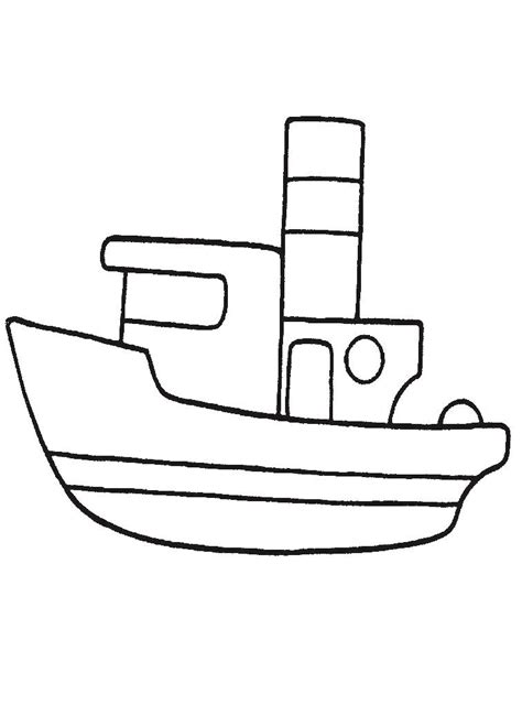 dibujos infantiles para colorear de barcos navio para colorir az dibujos para colorear