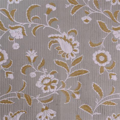 Scalamandre Fabric Mysore Grigio Oro 26862 003 Traditional