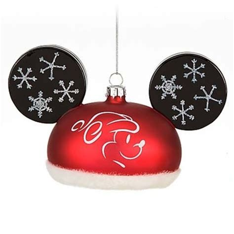 mickey mouse santa hat with lights 145 best images about disney christmas ornaments