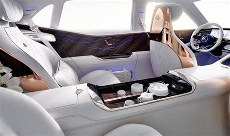 maybach interior mercedes maybach suv leaked pictures reveal car s design