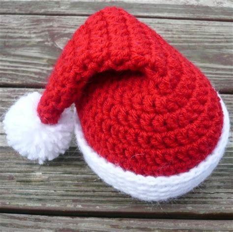 free crochet santa hat for children baby santa hats tag hats