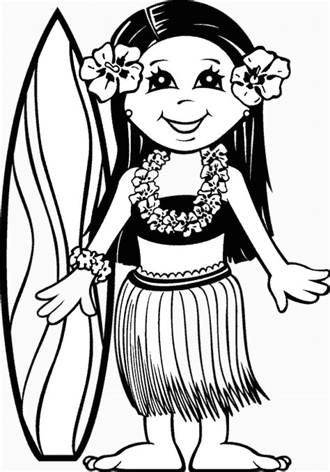 international christmas tree coloring page luau free coloring pages coloring home