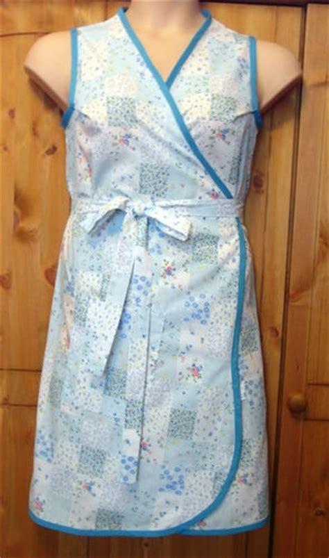 Wrap Around Apron Pattern Uk | 1940 s 1950 s vintage retro wrap around apron pinny