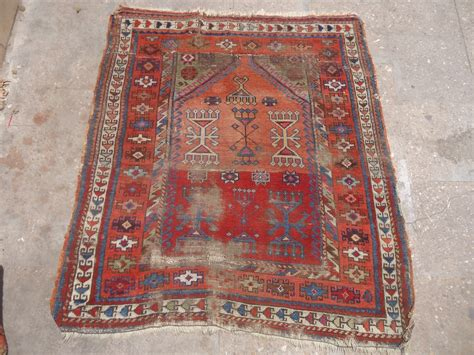 prayer rug size anatolian prayer rug fragment with colors and age design size 3 9 quot 3 5 quot e mail for more