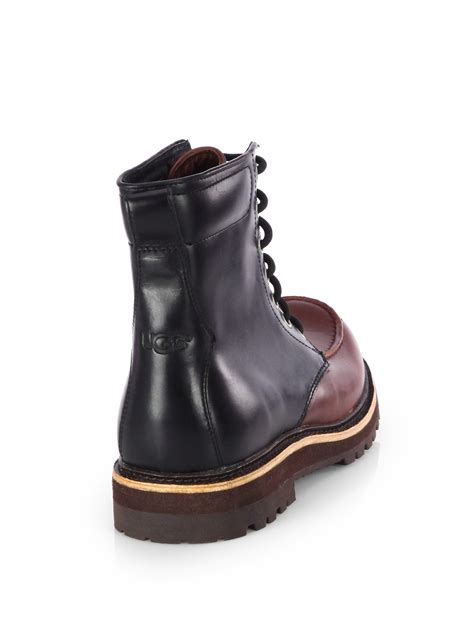 ugg waterproof boots lyst ugg noxon waterproof boots in brown for