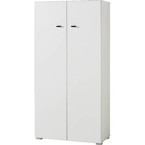 White Office Cabinet With Doors Montreal Home Office Cabinet Small In White With 2 Doors