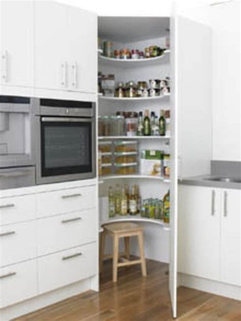 kitchen storage ideas quiet corner corner pantry curved shelves for the home pinterest