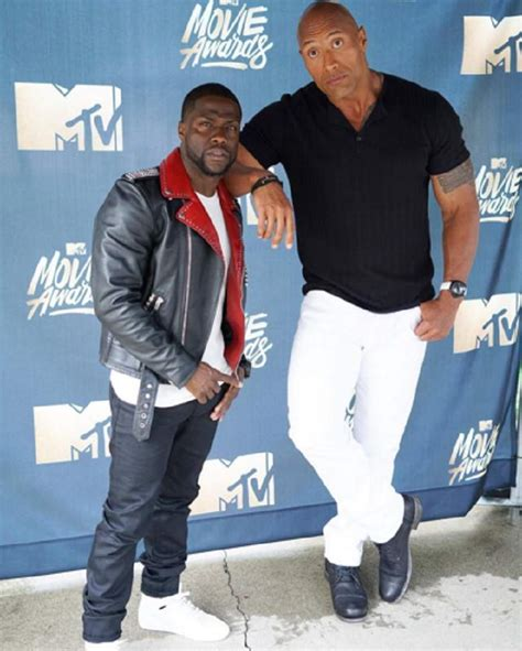 kevin hart and dwayne johnson kevin hart vs dwayne johnson s height weight