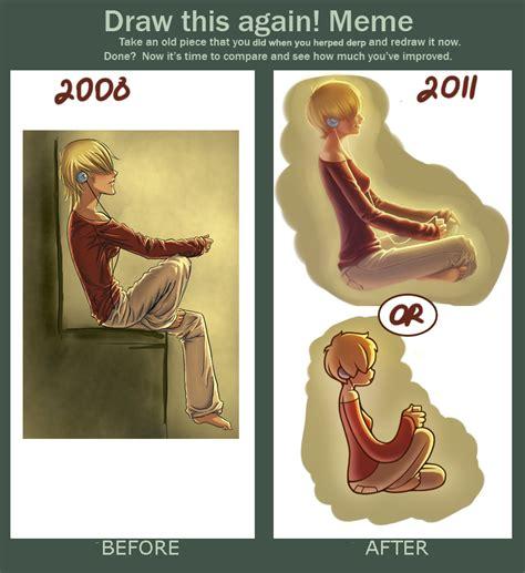 Draw This Again Meme Blank - draw this again meme by irmirx on deviantart