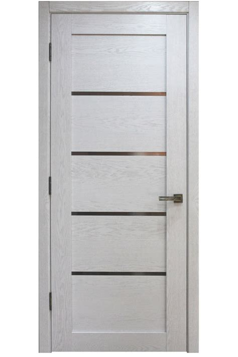 White Modern Interior Doors Quot Palermo Quot Modern Interior Door In White Oak Finish