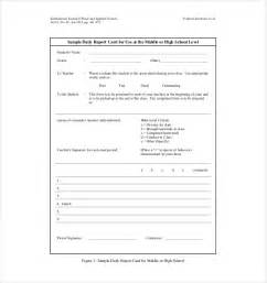 Daily Report Format Sample Daily Report Template 25 Free Word Excel Pdf