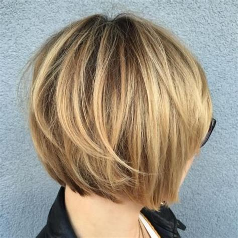 pictures of layered short bob haircuts front and back 40 layered bob styles modern haircuts with layers for any
