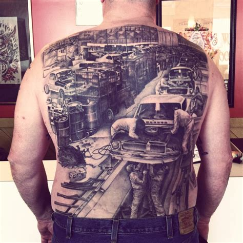 motor city tattoo by joe johns awarded quot most realistic quot at the
