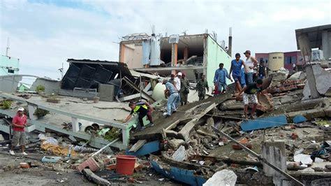 imagenes sorprendentes del terremoto en ecuador im 225 genes del devastador sismo en ecuador
