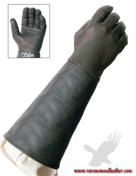 comfort fencing gloves 9 inch cuff gloves