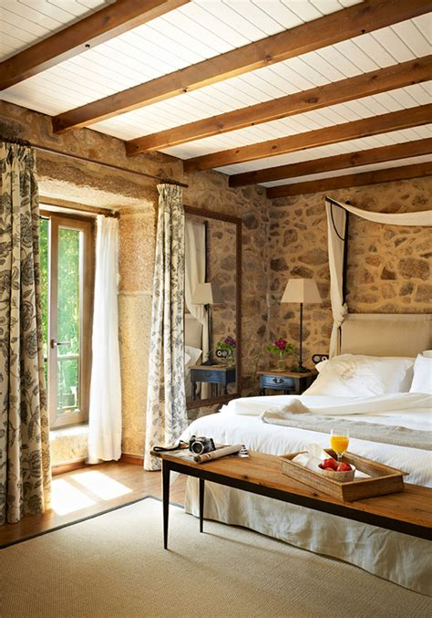 rustic chic master bedroom 35 rustic bedroom design for your home 17015 | perfect rustic master bedroom ideas on bedroom decorating ideas with inspiring rustic hotel unveiling the authentic beauty of spain