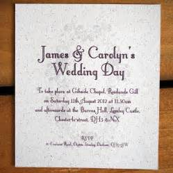 invitation to wedding sle message wedding invitation ideas