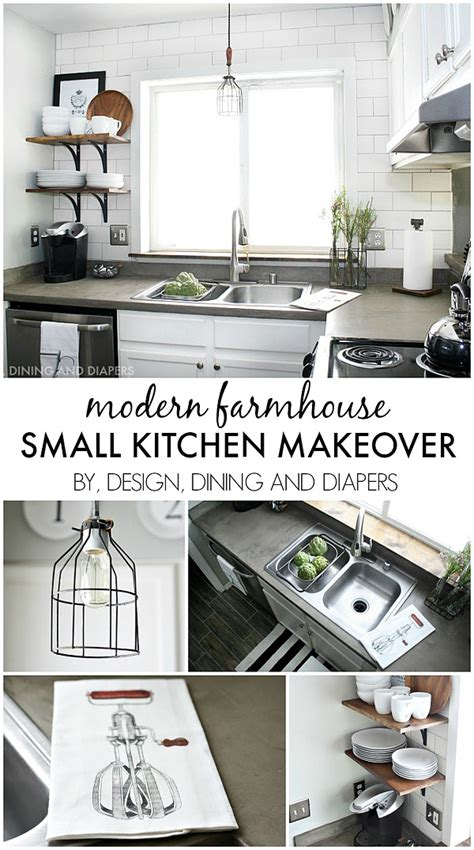 small kitchen makeover the party bunch link party no 34 whipperberry