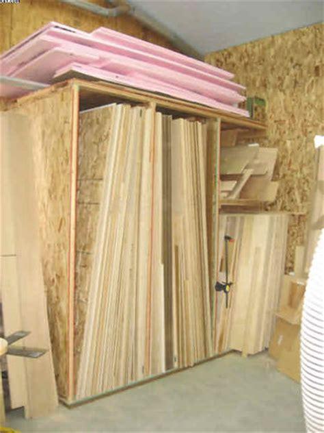 Plywood Storage Rack by Lumber Storage By Therookie Lumberjocks