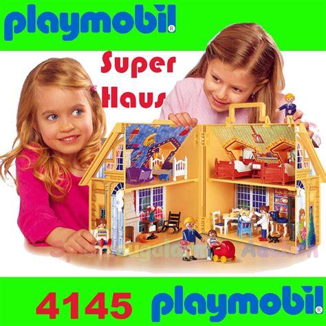 playmobil take along dolls house playmobil 4145 doll house to go take along ebay