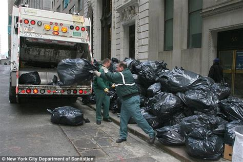 The City Digs Through Nyc Trash by New York Sanitation Crew Helps Search For Lost