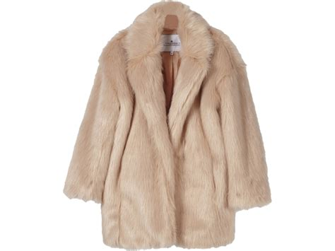 Orange Mayonnaise little remix jr fur coat cardy orange mayonnaise