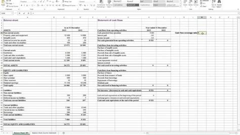 projected income statement template excel this is a simple flow statement excel template