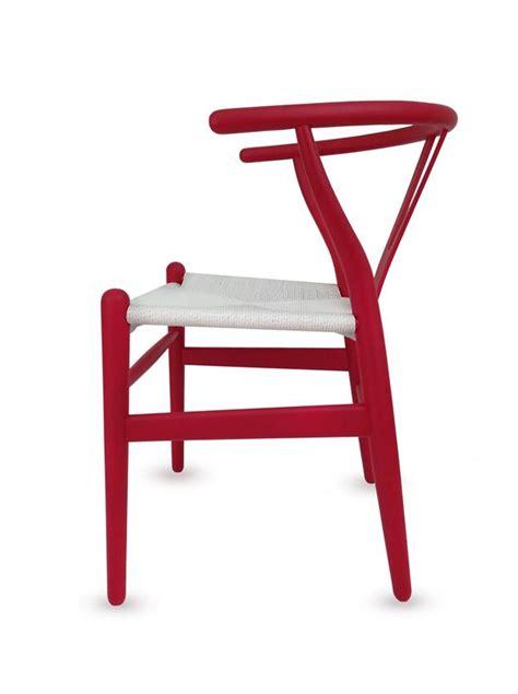 Wishbone Dining Chair Wishbone Dining Chair Black White Brown Orange Finish