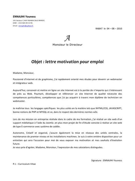 Kawtar EL RHIRHAYI par pc02 - CV + Lettre de motivation