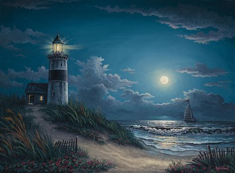 Hearts And Stars Kitchen Collection The Gallery For Gt Lighthouse At Night Storm