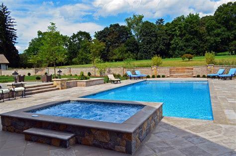Luxury Inground Swimming Pool Spa Design Installation Swimming Pool And Spa Design