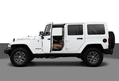white 4 door jeep wrangler door for decoration